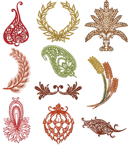 Floriani Embroidery Design Collection - Fall Abstracts - Sew ...