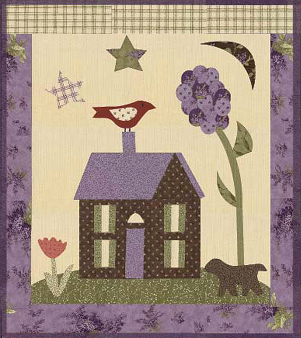 Lilac Place By Jan Patek Quilt Kit Sew Creative Cottage