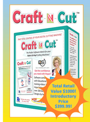 Quilters Select Craft N Cut Software Free Shipping